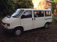 VW Transporter T4 Van with windows 1.9D 1992.