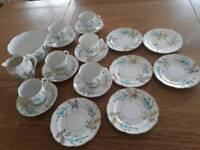Cups, saucers, plates etc