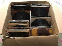 "Job lot of 250+ 7""vinyl records. Rock, pop, soul, funk, disco, electro."