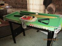 Kids Pool and Snooker Table