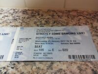 STRICTLY COME DANCING 10TH ANNIVERSARY LIVE TOUR TICKETS FOR SHEFFIELD
