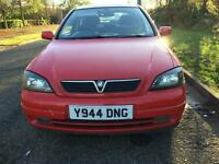 2001 Vauxhall Astra 1.6 SXI petrol great condition