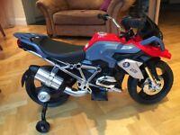 BMW 6v motorised childs bike