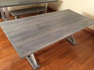 6ft RUSTIC DINNING TABLE