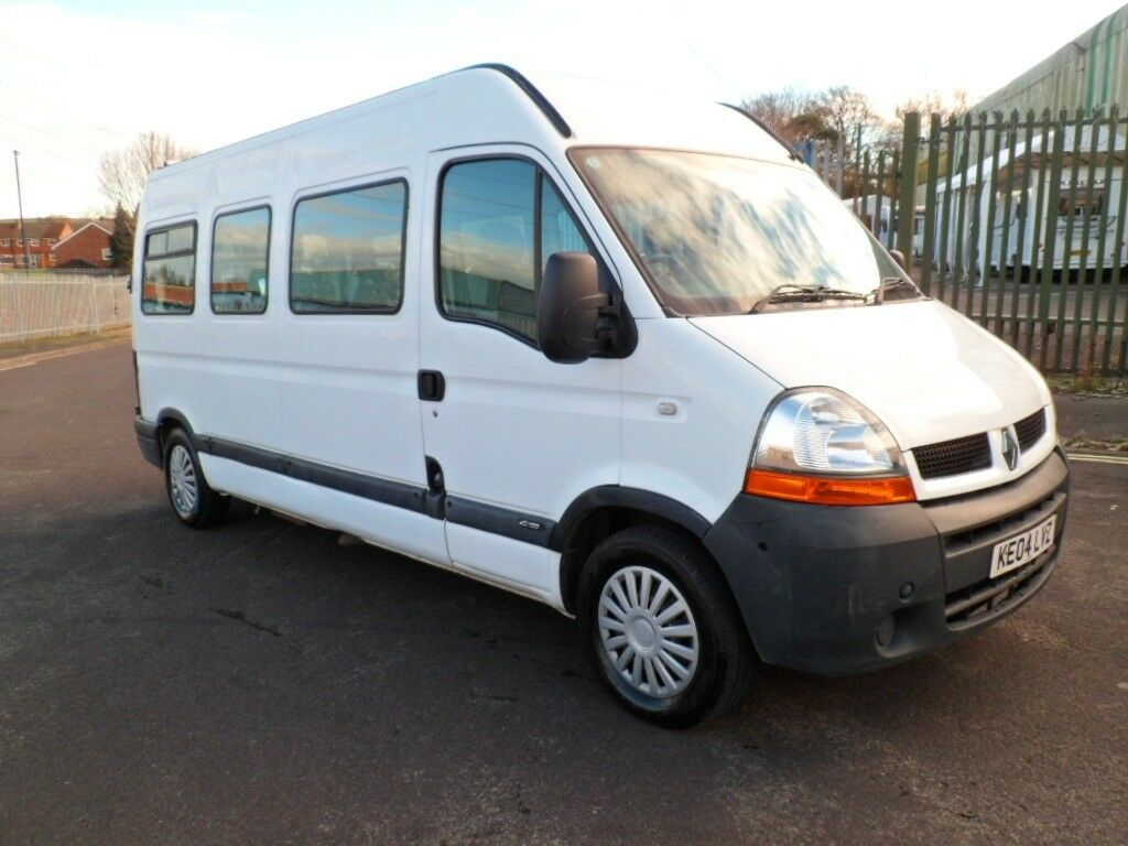 RENAULT MASTER DCI 14 SEAT MINIBUS MOBILITY WHEEL CHAIR LIFT. LWB