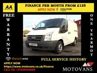 Ford Transit 2.2 300, 1 Owner - Direct From BT, Low Mileage 55K , Full Service History, 1 Year MOT
