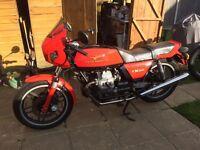 Moto Guzzi V35 Imola classic bike