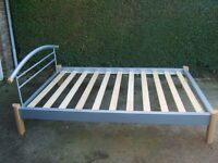 DOUBLE BED FRAME (NEAR MARKET WEIGHTON)