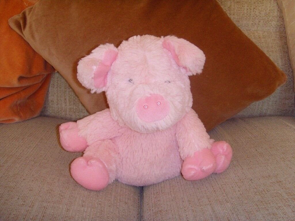 MICROWAVABLE /SOFT TOY PIG
