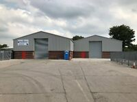 NEWLY BUILT 4337 SQ FOOT INDUSTRIAL / STORAGE UNIT TO LET IN BURY LANCS ON SECURE INDUSTRIAL PARK