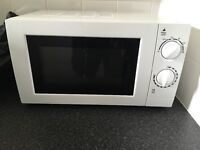 White microwave (collection only)