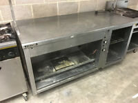 Victor commercial hot cabinet/preparation unit