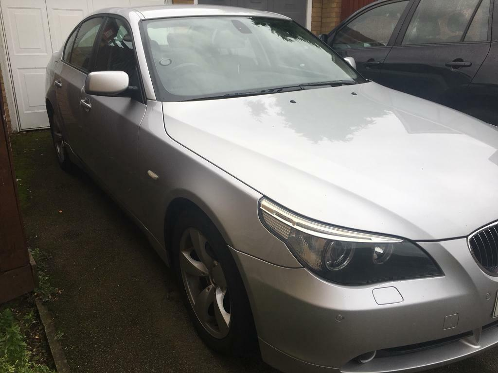 Selling BMW 523i Petrol Manual 2006 Silver 2.5 Full Service Private plates 1 Previous Owner