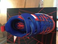 Adidas Spider-Man Toddler Trainers Size 6