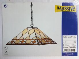 Tiffany Glass style lampshade 40x 40 x20 high