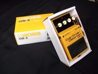 Boss OS-2 Overdrive / Distortion Pedal