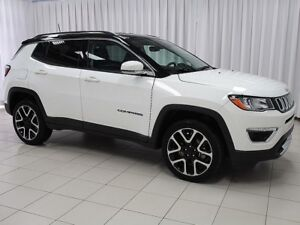 2017 Jeep Compass WOW! WHAT MORE DO YOU NEED!? LIMITED 4X4 SUV w