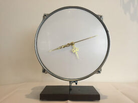 A unique hand made drum clock. Perfect for hallway, lounge, man cave etc. Great xmas stocking filler
