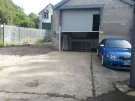Garage/Unit/storage Yard to Let