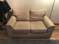 Light Brown/Beige Next 2 person sofa for sale ASAP