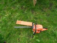 Cheap chain saw good long blade £55 ono