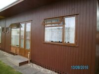 4 berth holiday chalet to let