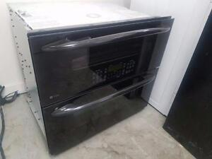 GE PROFILE DOUBLE WALL OVEN FREE DELIVERY +INSTALLATION