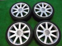 "* Audi golf other cars wheels 18"" perfect condition*"