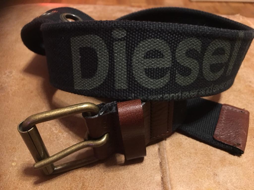 Diesel canvas belt