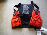 Kayak Anglers Life Vest: NRS Chinook Mk III. New and unused multi-pocket floatation vest