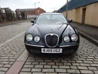 2005 JAGUAR S-TYPE,DIESEL AUTOMATIC,LOW MILEAGE,1 YEAR MOT,SERVICE HISTORY,HPI CLEAR,DRIVE SPOT ON