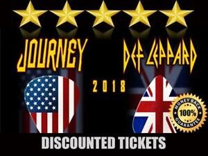 Journey & Def Leppard Tickets | Last Minute Delivery Guaranteed!