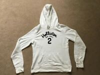 White Hollister Hoodie size Large