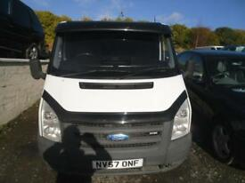 FORD TRANSIT 85 T260S FWD NO VAT ,PANEL VAN, PLY LINED, 2008 86BHP SWB 2.2 DIESEL TRADE-IN TO CLEAR