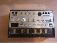 Korg Volca Bass synthesizer with box