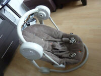 Swinging chair for babies - URGENT SALE!