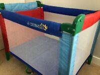 Baby maxi sleep travel cot