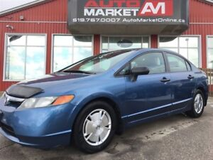 2008 Honda Civic DX-G, Alloys, WE APPROVE ALL CREDIT