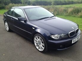 2003 Facelift BMW 318i SE Coupe FSH 1yrs Mot 6mth warranty