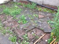 Paving slabs - free to a good home!