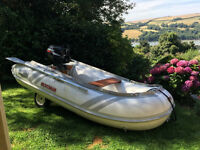 Dingy for Sale - Suzumar 2.65 mtr dingy with Suzuki 5hp outboard