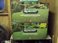 New in Box 46cm self propelled Qualcast mower