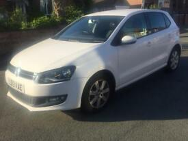 2013 Volkswagen Polo 1.2 Match Edition White Low Mileage FSH