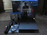 PS4 Slim + Uncharted 4 + Fifa 17