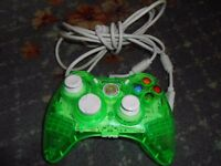 ROCK CANDY CLEAR GREEN XBOX 360 Wired Controller