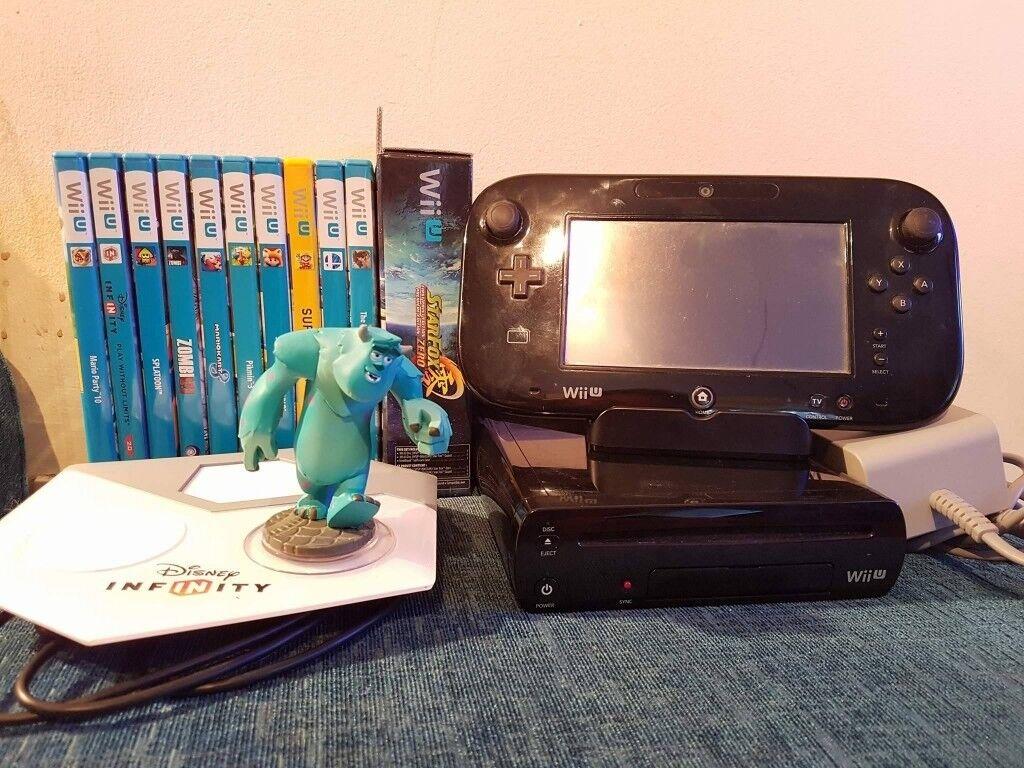 Wii U 32GB Premium Pack - 11 games and extras. Bargain!