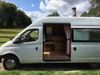LDV Maxus / Long wheelbase Camper Motorhome Van / High top / Diesel / 99K Mileage / Wood interior