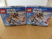 LEGO Star Wars 75074: Snowspeeder (x2) - Brand New & Sealed