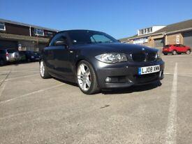 BMW 1 SERIES 118i 2.0 CONVERTIBLE M SPORT