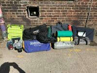 Camping equipment / Job lot of used mixed camping equipment